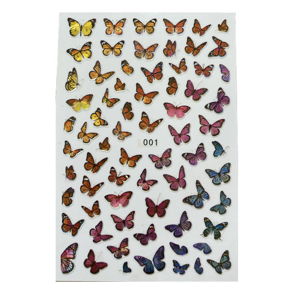 Butterfly Stickers 001