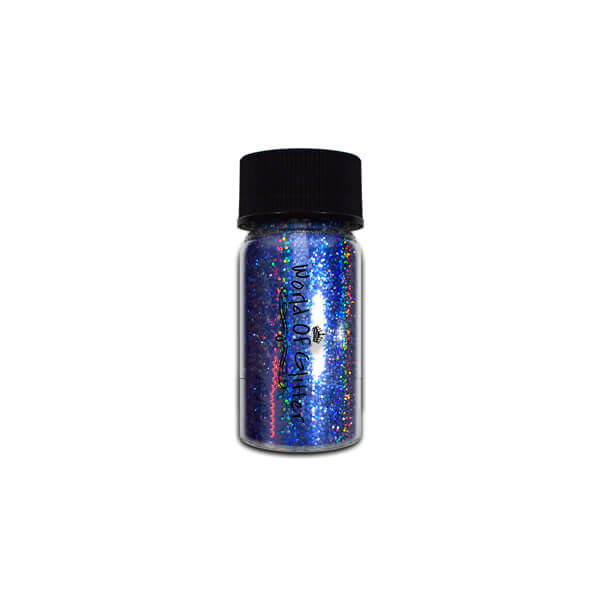 Galaxy Blue Holographic Nail Chrome