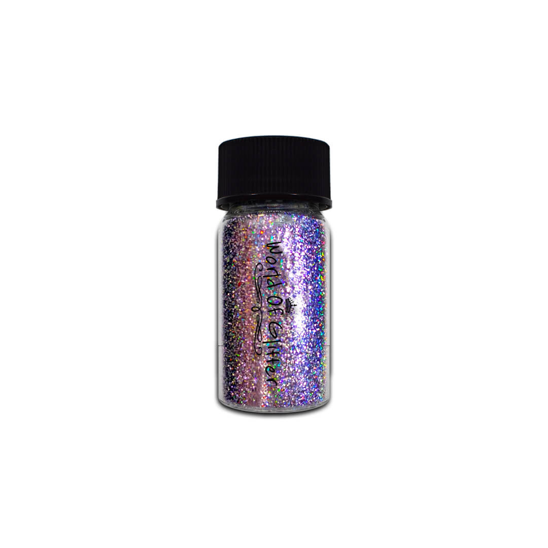 Galaxy Purple Holographic Nail Chrome