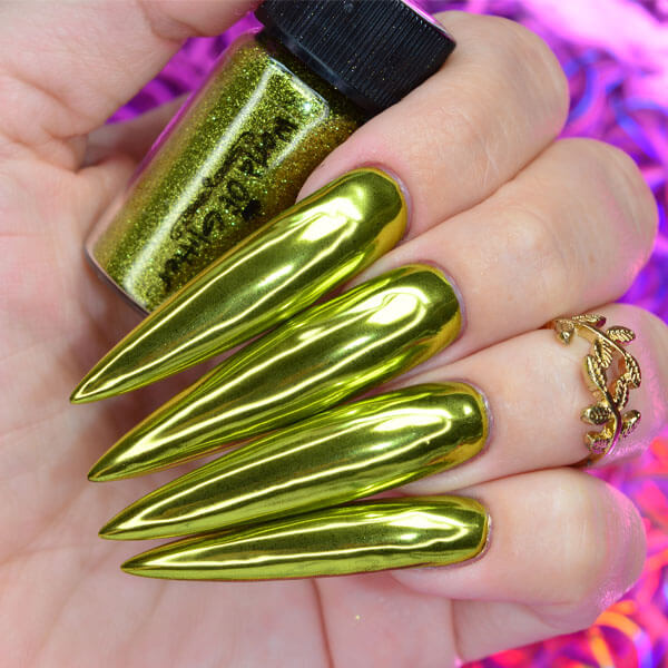 Solstice Yellow Gold Nail Chrome