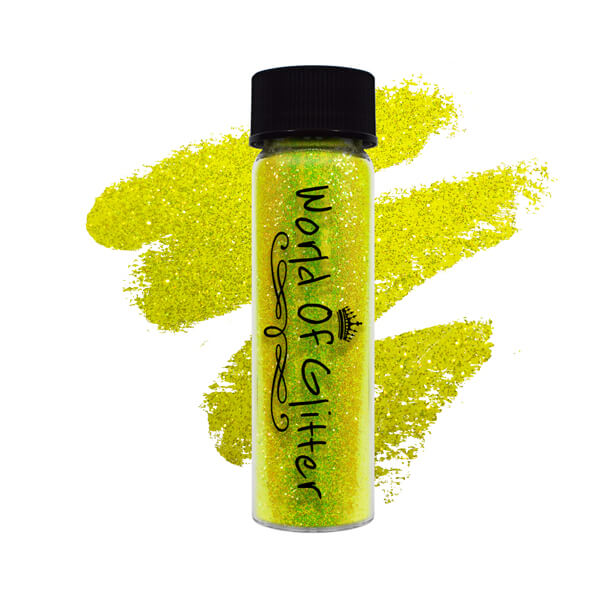 Kingston Yellow Nail Glitter