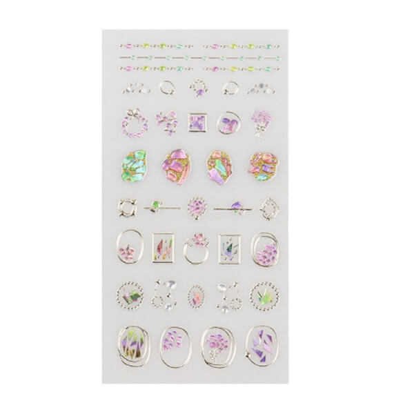 """Embellish"" Nail Art Stickers"