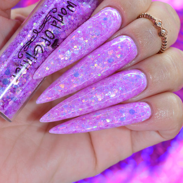 Denver Purple Nail Glitter