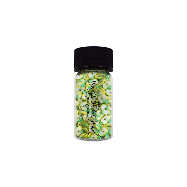 Green Apple Fimo Slices