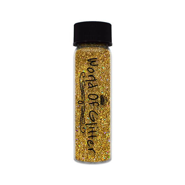 Muscat Dark Gold Holographic Nail Glitter
