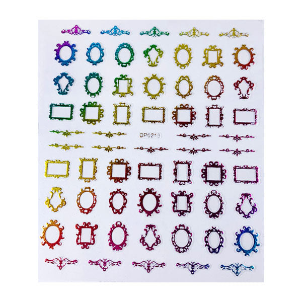 Multi Frame Sticker Sheet
