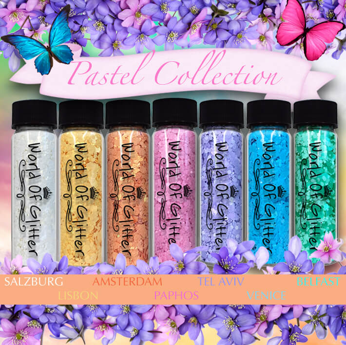 Pastel Glitter Matte Collection