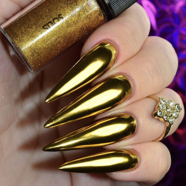 Solis Gold Nail Chrome