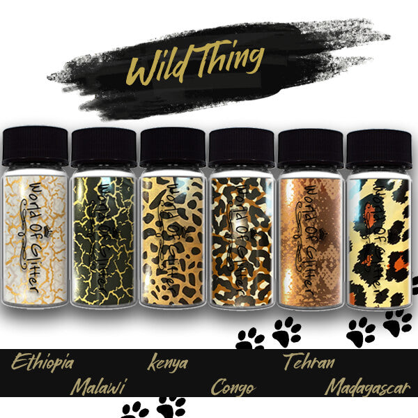 """Wild Thing"" Nail Foil Collection"