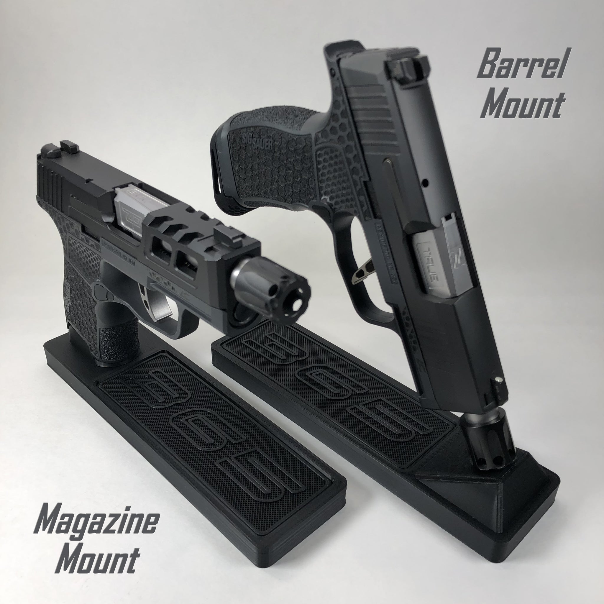 Pistol Stand - Back In Black Edition