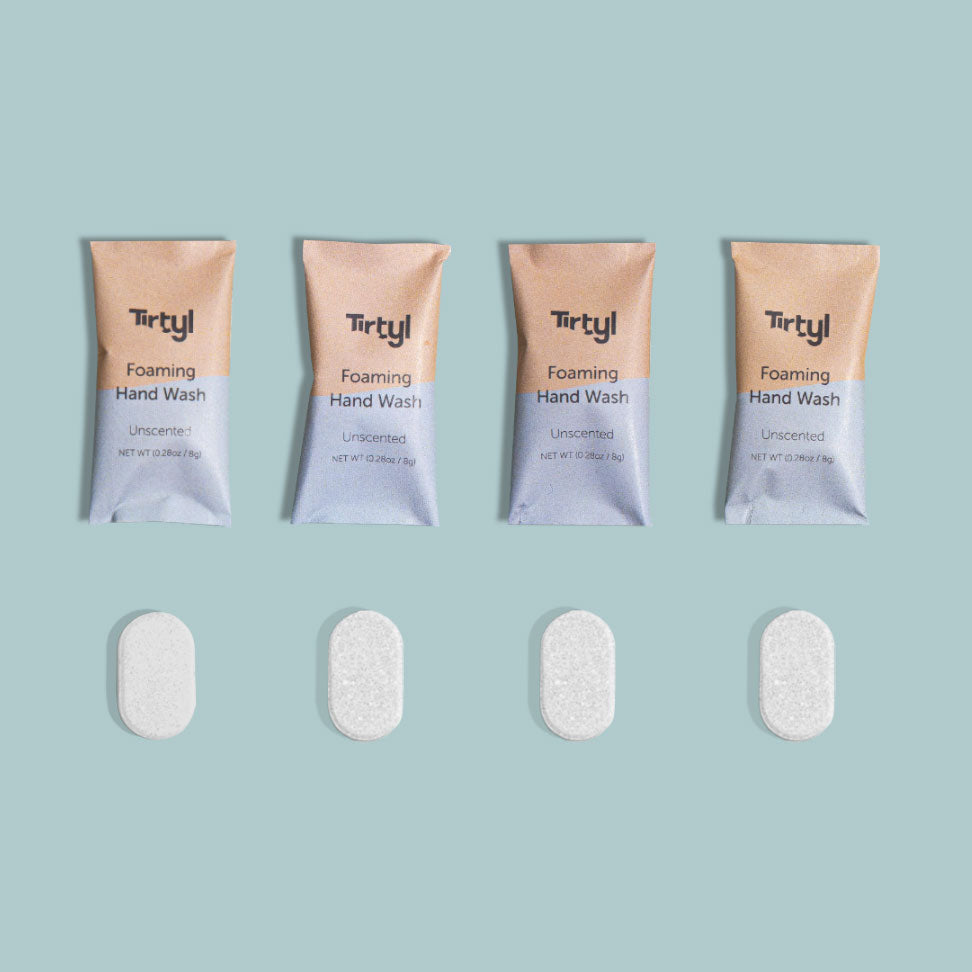 Tirtyl Foaming Hand Soap Tablets - Unscented