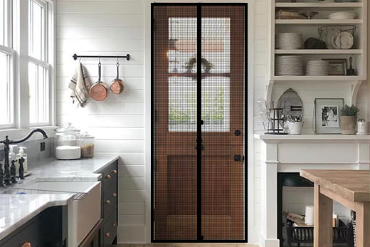 Yotache magnetic screen door 32X80, LOVE IT!!!
