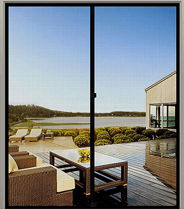 The Perfect Bug Screen Door