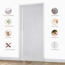 Load image into Gallery viewer, Magnetic Thermal Insulated Door Curtain