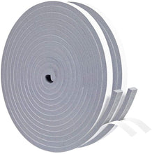 Load image into Gallery viewer, Yotache Gray Foam Weather Stripping Tape 2 Rolls