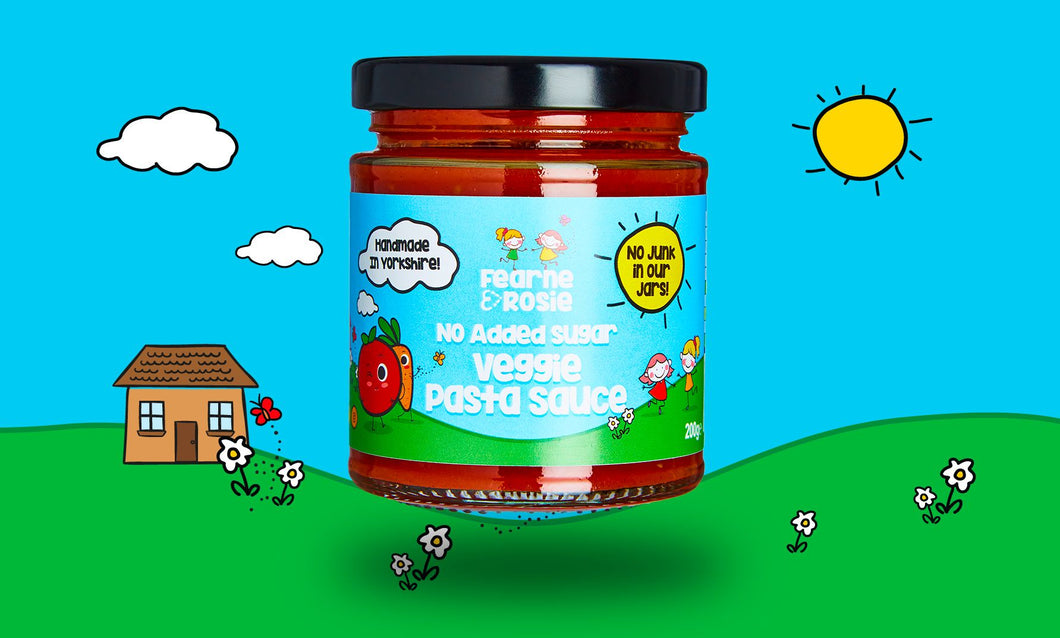 Pasta Sauce: No Added Sugar Veggie Pasta Sauce 220g