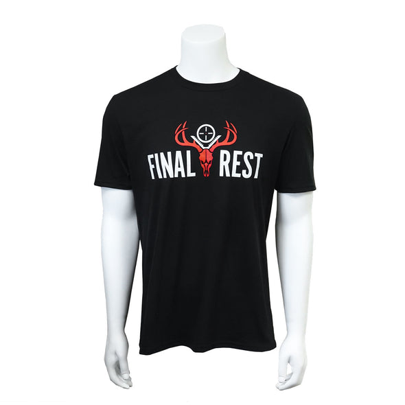 Black Final Rest T-shirt