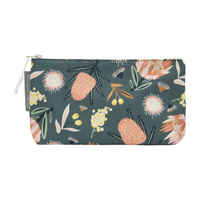 Annabel Trends Cosmetic Bag Small Aussie Flora