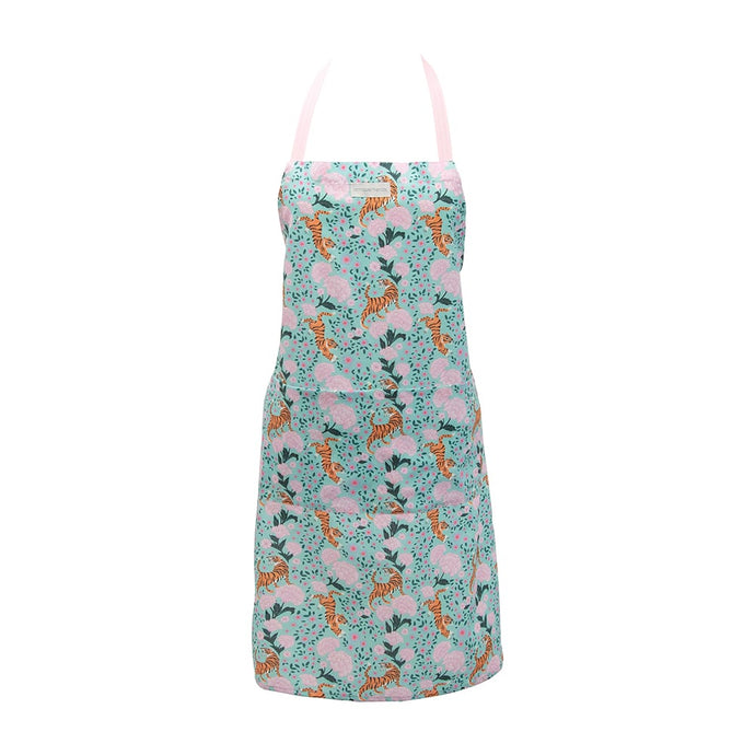 Annabel Trends Apron Tiger & Peonies