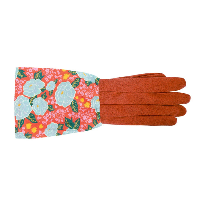 Annabel Trends Long Sleeve Garden Gloves Pretty Peonies