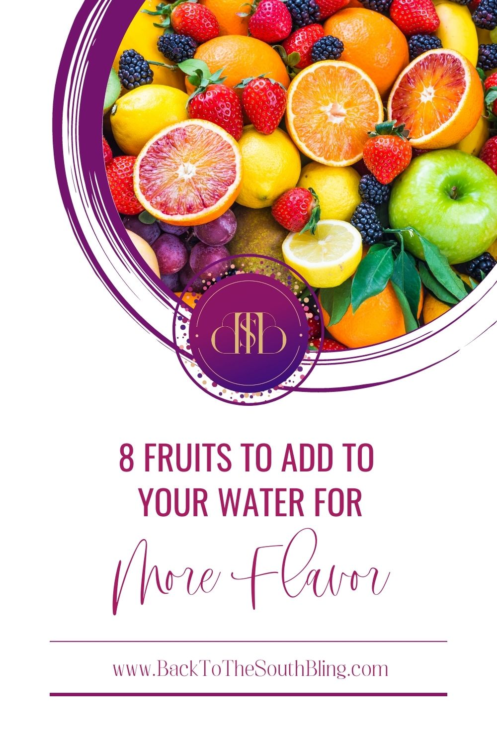 Fruits to add to water