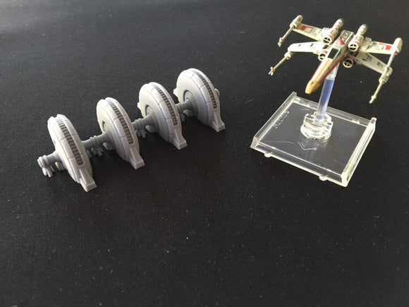 DSS-02 Hoth Shield Generator - X-Wings