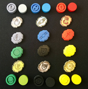 Lords of Waterdeep Building Tokens