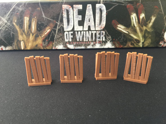 Dead of Winter Zombie Barricade Tokens (pkg of 20)