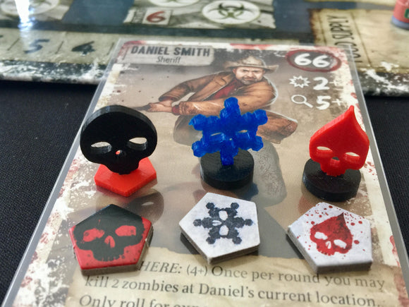 Dead of Winter Wound / Frostbite / Despair Tokens