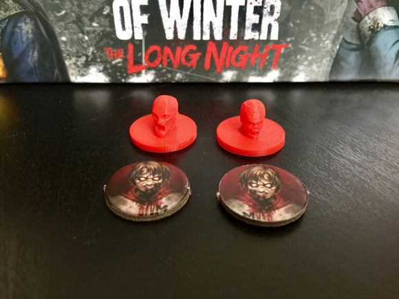 Dead of Winter Zombie Tokens (pkg of 20)