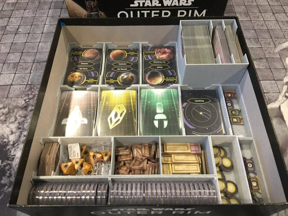 Star Wars Outer Rim Insert
