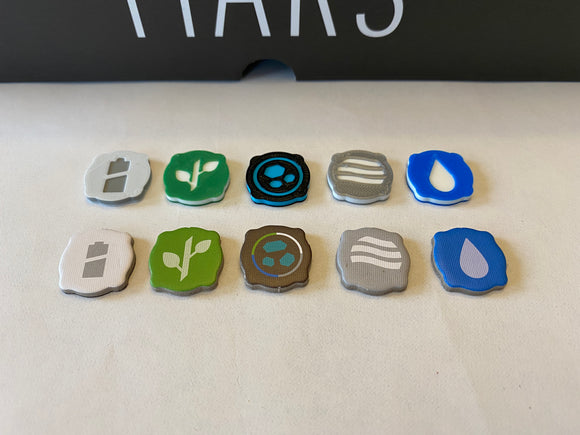 On Mars Resource Tokens (set of 100)