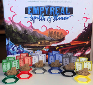 Empyreal: Spells & Steam City Bases (set of 12)