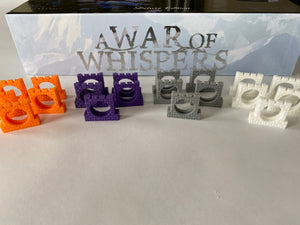Empire Token Ramparts for A War of Whispers (4 sets of 5)