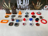 Dead of Winter Full Token Set (Optional The Long Night Tokens)