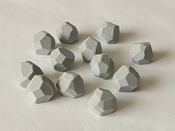Stone Tokens (set of 12)