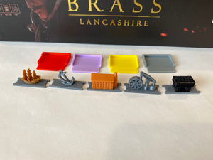 Brass: Lancashire Player Tokens (set of 133)