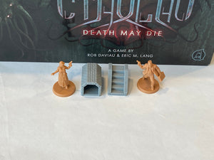 Cthulhu Death May Die Stairs and Tunnels (set of 4)