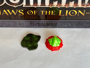 Gloomhaven Poison Gas Traps (set of 6)