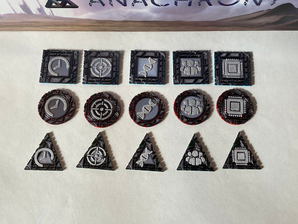 Anachrony Breakthrough Tokens (set of 45)