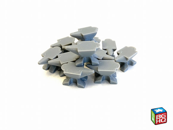 Anvil / Iron / Tool Tokens (set of 12)