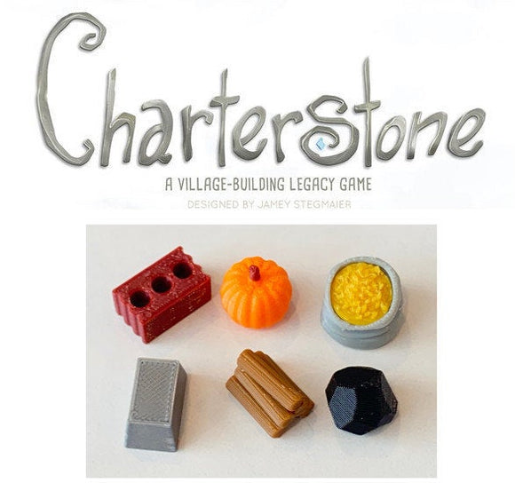 Charterstone Resource Tokens (72 tokens)