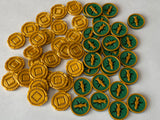 Tokens for Lost Ruins of Arnak (set of 54)