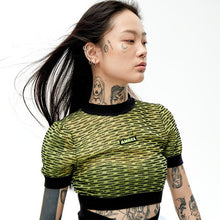 Load image into Gallery viewer, angel chen cropped knit top