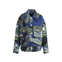 Load image into Gallery viewer, angel chen universe jacquard loose fit jacket