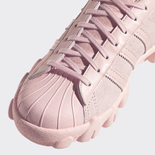 Load image into Gallery viewer, adidas x angel chen SUPERSTAR80S AC pink sneakers detail