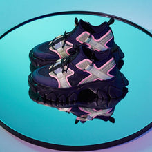 Load image into Gallery viewer, angel chen dragon teeth sneakers navy and pink