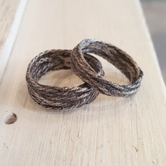 Emily becher, organic ring, string ring