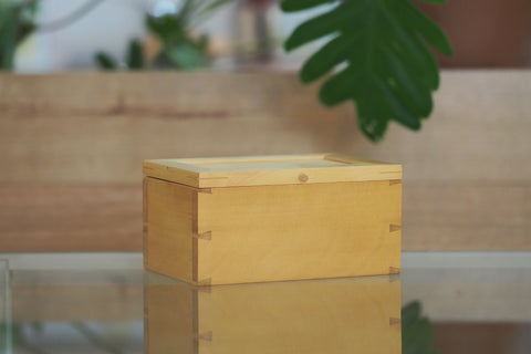 Huon Pine Small Jewellery Box
