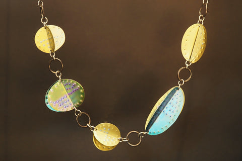 Shades Of Gold Necklace